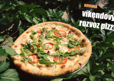 víkendový rozvoz pizzy